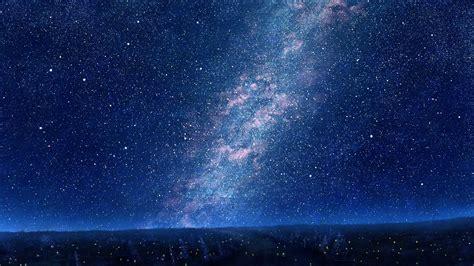 Wallpaper Night Sky Stars Clouds Milky Way Nebula