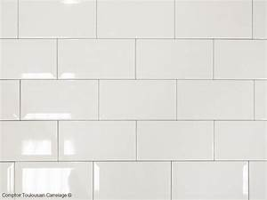 Carreau Metro Blanc : carrelage 10x20 metro blanc noir rouge carrelage 1er choix 10x20 carrelage salle de bain metro ~ Preciouscoupons.com Idées de Décoration