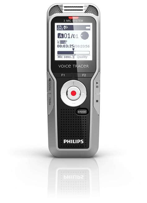 voice tracer digitaler recorder dvt philips