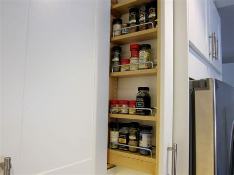 custom diy spice rack   ikea kitchen  la lady
