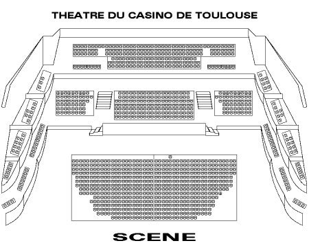 plan salle casino barriere toulouse billets romeo juliet by rock the ballet casino barriere toulouse le 20 mars 2018