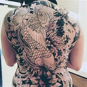 50 Koi Fish Tattoo Designs For Men - Japanese Symbol Of ...
