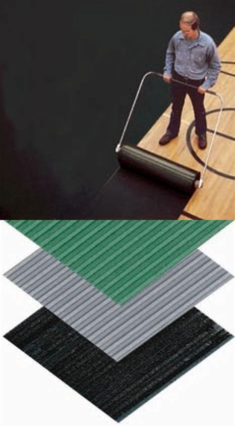 Gym Dandy Basketball Floor Mats   PVC Foam Flooring