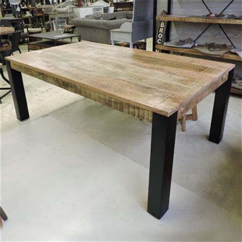 table cuisine style industriel les tables