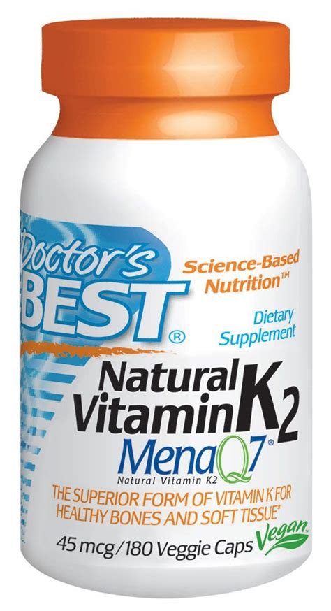 Solar essence delivers a solid 5000 ius of vitamin d3, and in addition, it delivers 80% of your vitamin k2 needs for the day, which is a micronutrient that's often lacking in older adults, making it an easy winner in this category. Doctor's Best Natural Vitamin K2 MenaQ7® -- 45 mcg - 180 ...
