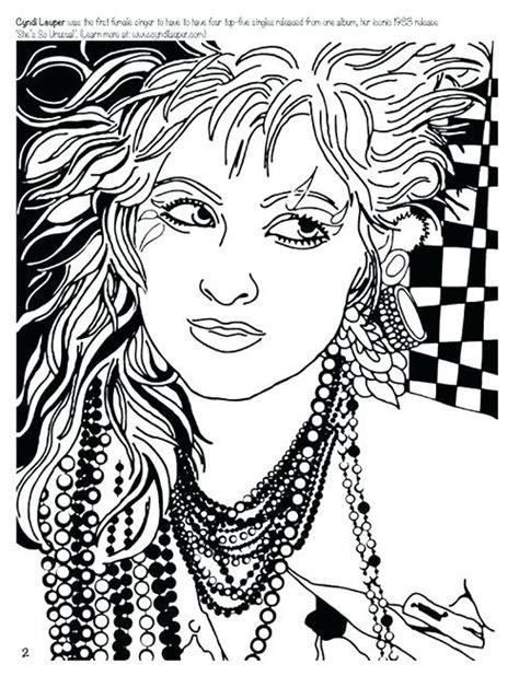 rock  roll coloring pages  getcoloringscom