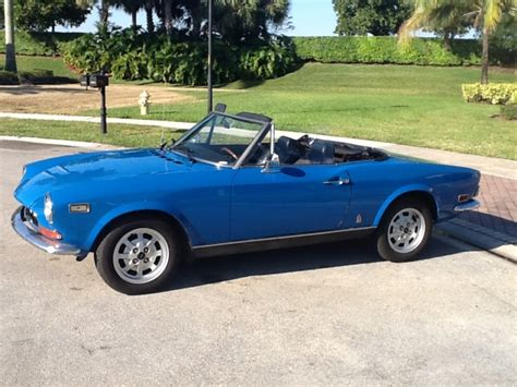 72 Fiat Spider by Daily Turismo 10k Uncommonly 1972 Fiat 124 Spider