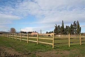 Comment Poser Une Cloture : comment poser une cl ture en bois pour chevaux hors news ~ Melissatoandfro.com Idées de Décoration