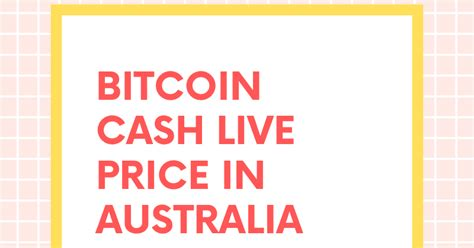 Price change, high, low, volume on multiple timeframes: 1 BCH to AUD | Convert Bitcoin Cash to AUD | Bitcoin cash price in AUD live chart