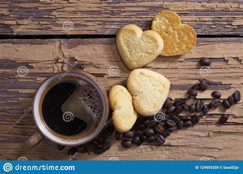 Free download png images, layered psd files, coffee ( images with transparent background ) for adobe photoshop. Coffee And Tasty Heart Shaped Cookies Stock Photo - Image of background, heart: 129655258