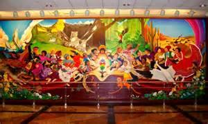 denver airport paintings murals mural world