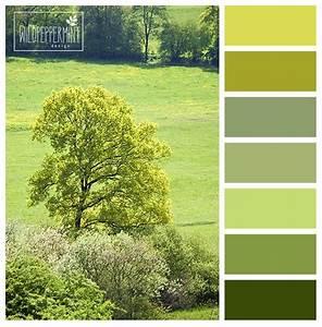 Farbpalette Wandfarbe Grün : farbpalette farbinspiration gr n gr nt ne maigr n hellgr n gelbgr n schicki ~ Indierocktalk.com Haus und Dekorationen