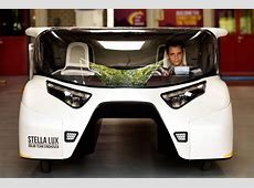 The 4seater solarpowered family car of the future