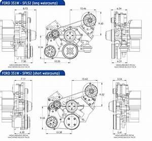 Ford Small Block Kit With Alternator And A  C  U2013 Concept One