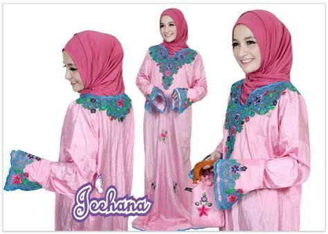 koleksi busana muslimah baju muslim mukena abaya instan karancang jeehana
