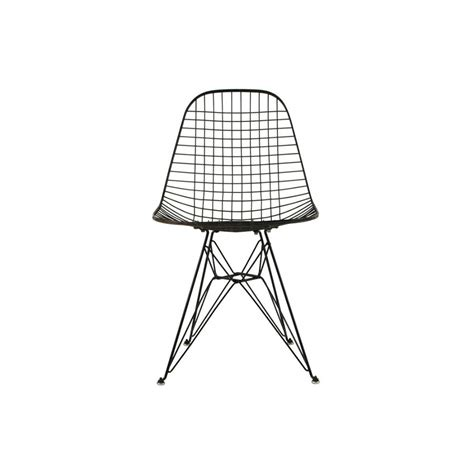 chaise metal noir eames wire chair home design 2017