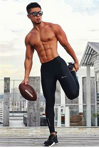 Men Compression Fitness Bodybuilding Sweat Trousers In 2020