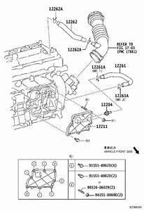 Toyota Corolla Im Engine Crankcase Vent Valve  Case
