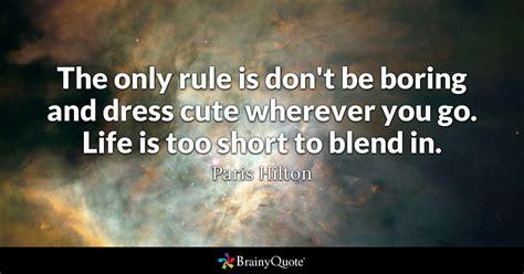 rule  dont  boring  dress cute
