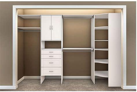 Bedroom Closet Shelving Units allen roth closet organization allen roth corner closet