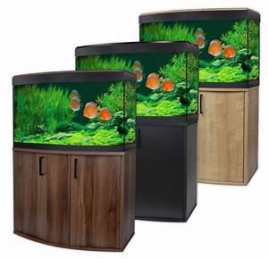 Aquarium Set Led : fluval vicenza 180 led aquarium cabinet set bowfront ~ Watch28wear.com Haus und Dekorationen