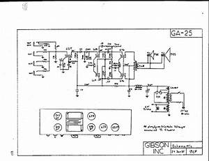Gibson Ga 18t Amplifier Schematic Service Manual Download