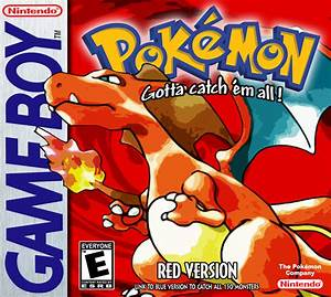 Pokemon Red Version Boxart - High Res - Front and Back