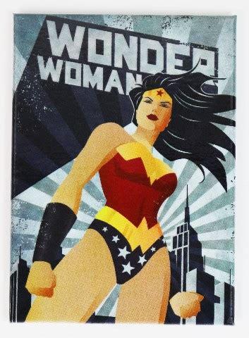 woman justice league fridge magnet dc comics batman