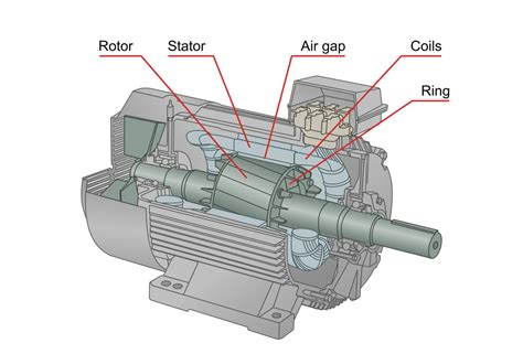 Electric Motor Components by Components And Frequencies Of Interest Power Mi