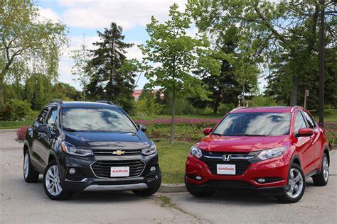 2017 Chevrolet Trax Vs 2017 Honda Hrv Comparison Test