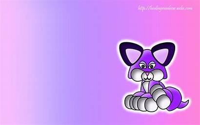 Wallpapers Computer Desktop Purple Backgrounds Kawaii Pc