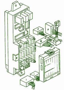 1990 Subaru Legacy Under Dash Fuse Box Diagram