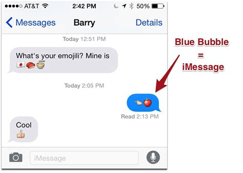 read messages on iphone how to tell imessages from text messages the mac observer