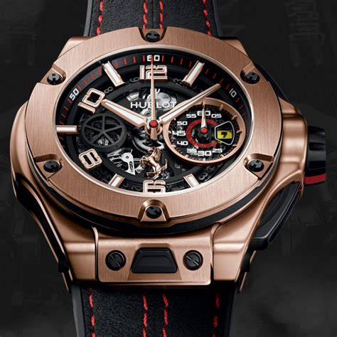 Hublot's flagship model, the big bang has revolutionized the watchmaking universe with its extraordinary design. Hublot Refreshes Big Bang UNICO Ferrari Watches for 2016   American Luxury