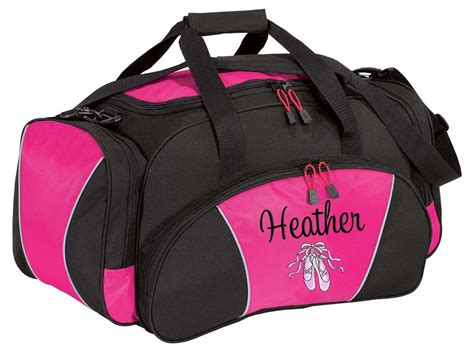 personalized duffle bag dance ballet competition monogrammed