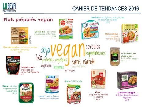 les plats cuisin駸 cahier de tendances plats préparés vegan