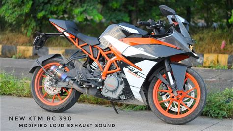 Modification Ktm Rc 390 by New Ktm Rc 390 Modified Loud Exhaust Sound Modification