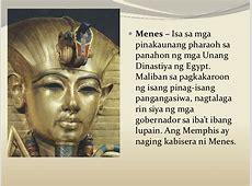Ang Kabihasnang Egyptian