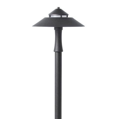 low voltage path lights shop portfolio specialty bronze low voltage 6 4 watt 20 w