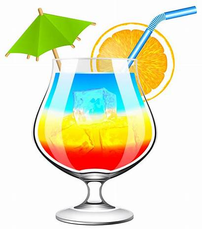 Clipart Cocktail Holiday Transparent Clip Drinks Tiki