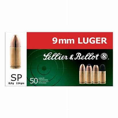 Jacketed Soft Point 9mm Semi Ammo Gr