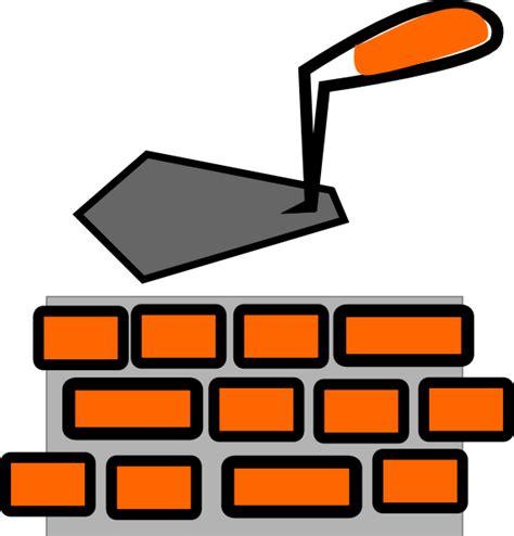 Brick Clipart Brick Laying Clip At Clker Vector Clip