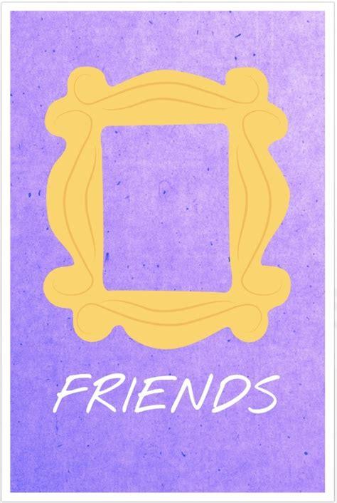 poster minimalisti  friends