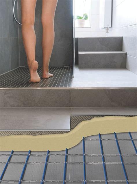 underfloor heating  concrete  screeded floors warmup