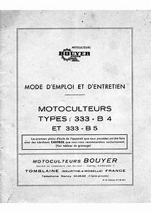 Motokultivator Bouyer 333