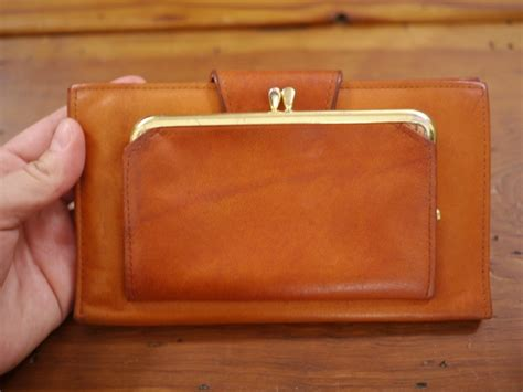 Rolfs Cowhide by Vintage Rolfs Cowhide Leather Floral Tooled Checkbook
