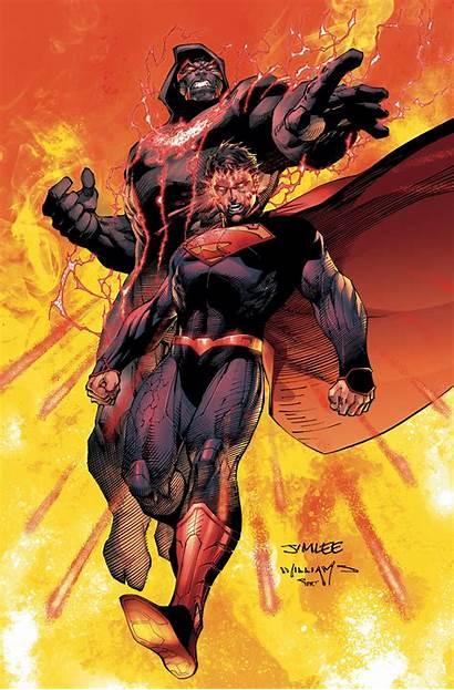 Superman Unchained Jim Lee Wraith Dc Comic