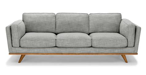 Grey Sofa by Gray Sofa Fabric Sofa Timber Pebble Gray Sofa Article