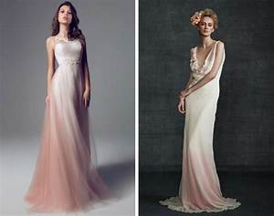 012 southboundbride dip dye ombre wedding dresses With dip dye wedding dress