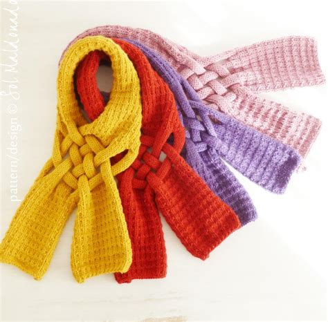 knit scarf you have to see mustard knit scarf on craftsy